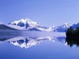 Mountains and Lake McDonald
