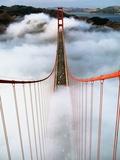 Golden Gate Bridge Wrapped in Fog