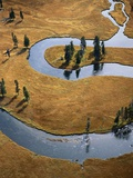 Gardiner River in Yellowstone National Park