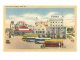 Plaza Hotel  Asbury Park  New Jersey