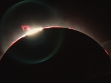 Solar Prominences and Diamond Ring Effect