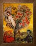 La Branche Reproduction encadrée par Marc Chagall