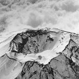 Top View of Mount Fuji Papier Photo par Bettmann