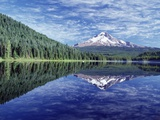 Reflection of Mt Hood in Trillium Lake