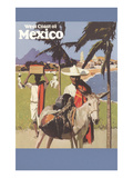 Travel Poster for West Coast of Mexico