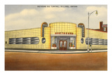 Greyhound Bus Station  Billings  Montana
