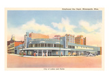 Greyhound Bus Station  Minneapolis  Minnesota