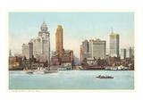 Waterfront  Detroit  Michigan