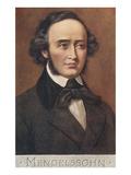 Portrait of Mendelssohn