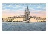 Schooner  Bridge  Port Huron  Michigan