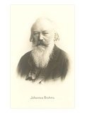 Photograph of Johannes Brahms
