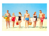 Beach Picnic  Retro