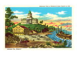 State Capitol  Jefferson City Historical View