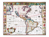 New World Map  1616