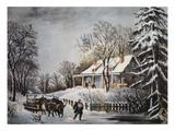 Currier & Ives: Winter Scene