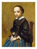 Corot: Girl  C1860