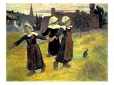 Gauguin: Breton Girls  1888