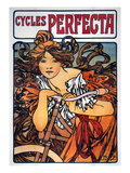 Mucha: Bicycle Ad  1897