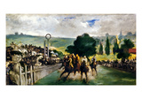 Manet: Longchamps  1867