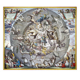 Celestial Planisphere  1660