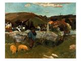 Gauguin: Swineherd  1888