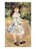 Renoir: Girl/Hoop  1885