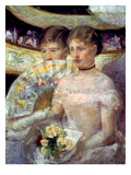 Cassatt: The Loge  1882