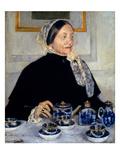Cassatt: Lady At Tea  1885