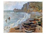 Claude Monet: Etretat  1883