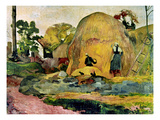 Gauguin: Haystacks  1889