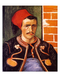 Van Gogh: The Zouave  1888