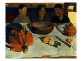 Gauguin: Meal  1891