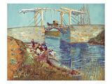 Van Gogh: Drawbridge  1888