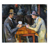 Cezanne: Card Player  C1892