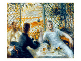 Lunch at the Restaurant Fournaise  1875