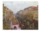 Pissarro: Mardi Gras  1897