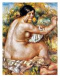 Renoir: Bather  1912