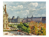 Pissarro: Carrousel  1900