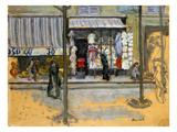 Bonnard: Street  C1902