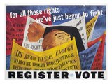 Voter Registration Poster