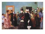 Albertine at the Police Doctor's Waiting Room  1886-87