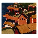 Schmidt-Rottluff: Countryside  1911