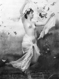 Nude With Butterflies