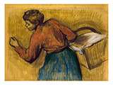 Degas: Laundress  C1888-92