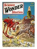 Sci-Fi Magazine Cover  1929