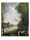 Corot: Cathedral  C1855-60