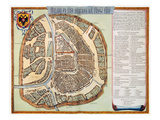 Moscow: Map  1662