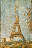 Seurat: Eiffel Tower  1889
