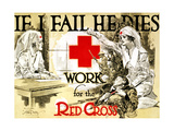 Red Cross Poster  C1918