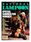 National Lampoon  July 1984 - Special Summer Fun Number!